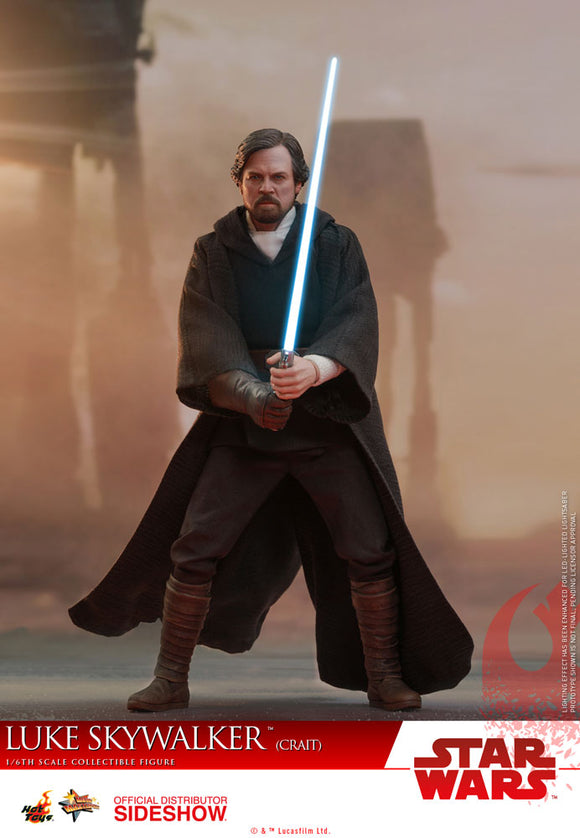 HOT TOYS STAR WARS: THE LAST JEDI - LUKE SKYWALKER (CRAIT) 12 IN FIGURE