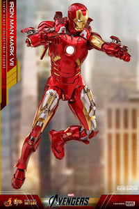 HOT TOYS AVENGERS - IRON MAN MARK VII SPECIAL EDITION DIECAST 12 IN FIGURE