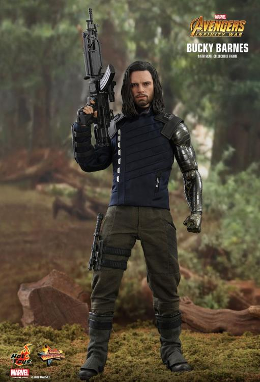 HOT TOYS AVENGERS: INFINITY WAR - BUCKY BARNES 12 IN FIGURE