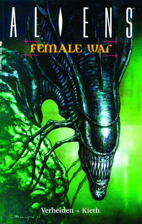 ALIENS TP VOL 03 FEMALE WAR REMASTERED