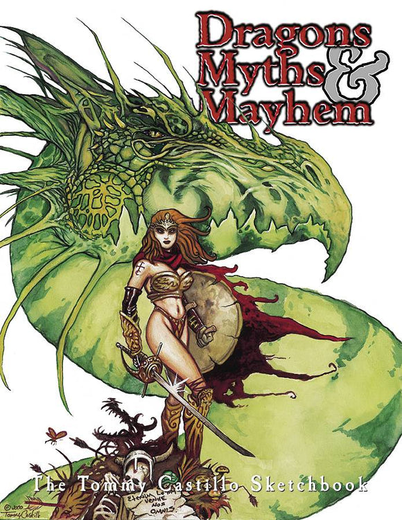 DRAGONS MYTHS AND MAYHEM TP
