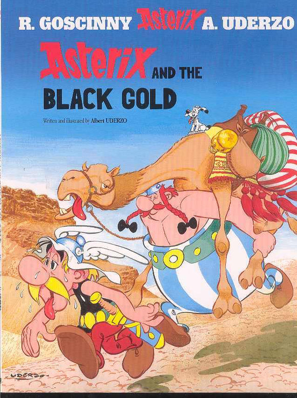 ASTERIX #26 ASTERIX AND THE BLACK GOLD TP