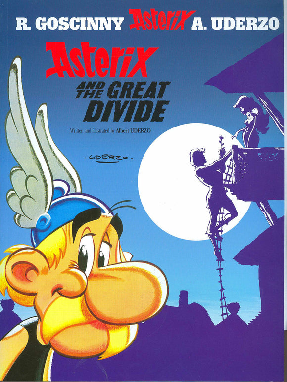 ASTERIX #25 ASTERIX AND THE GREAT DIVIDE TP