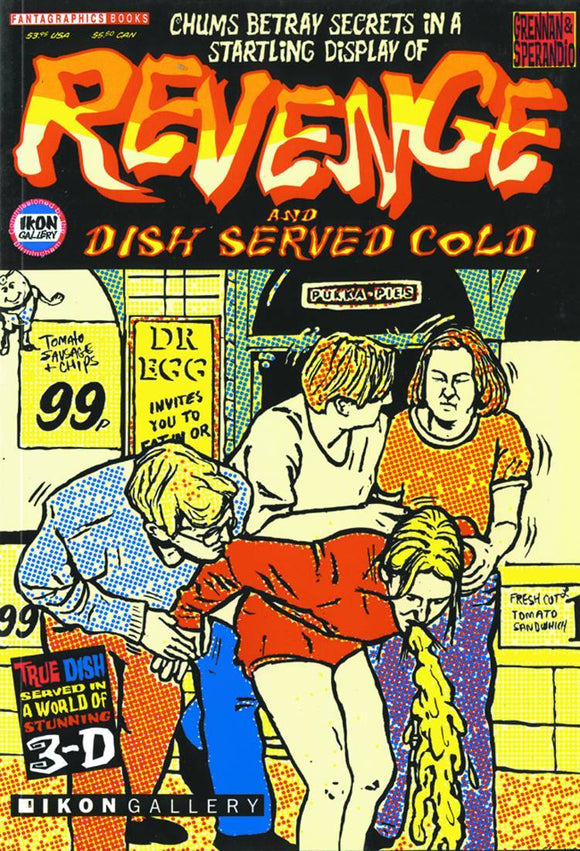 REVENGE IS A DISH BEST SERVED COLD GN