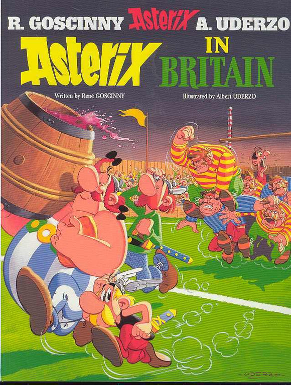 ASTERIX #08 ASTERIX IN BRITAIN TP