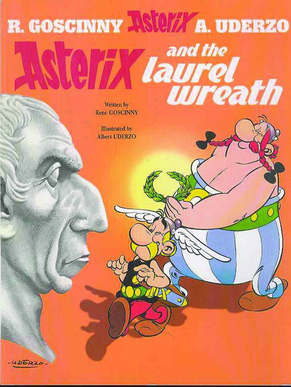 ASTERIX #18 ASTERIX AND LAUREL WREATH TP