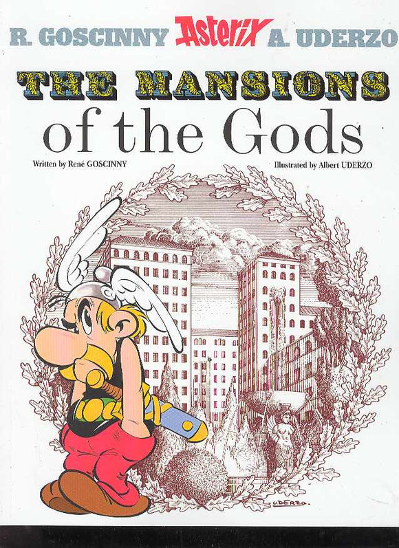 ASTERIX #17 MANSION OF THE GODS TP