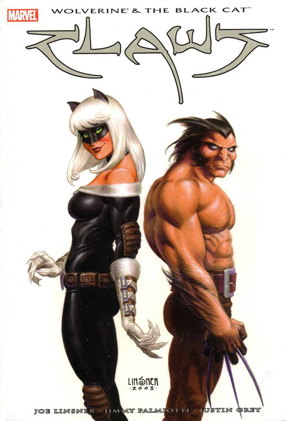 WOLVERINE & BLACK CAT CLAWS HC