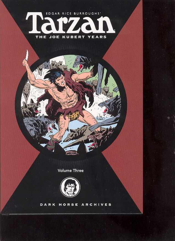 TARZAN THE JOE KUBERT YEARS HC VOL 03