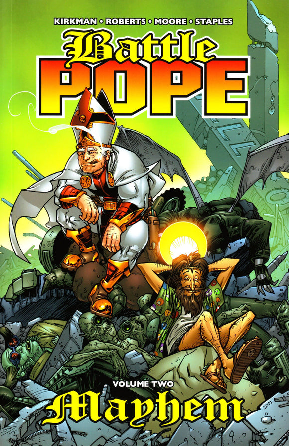 BATTLE POPE TP VOL 02 MAYHEM