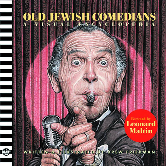 OLD JEWISH COMEDIANS A BLAB STORYBOOK HC