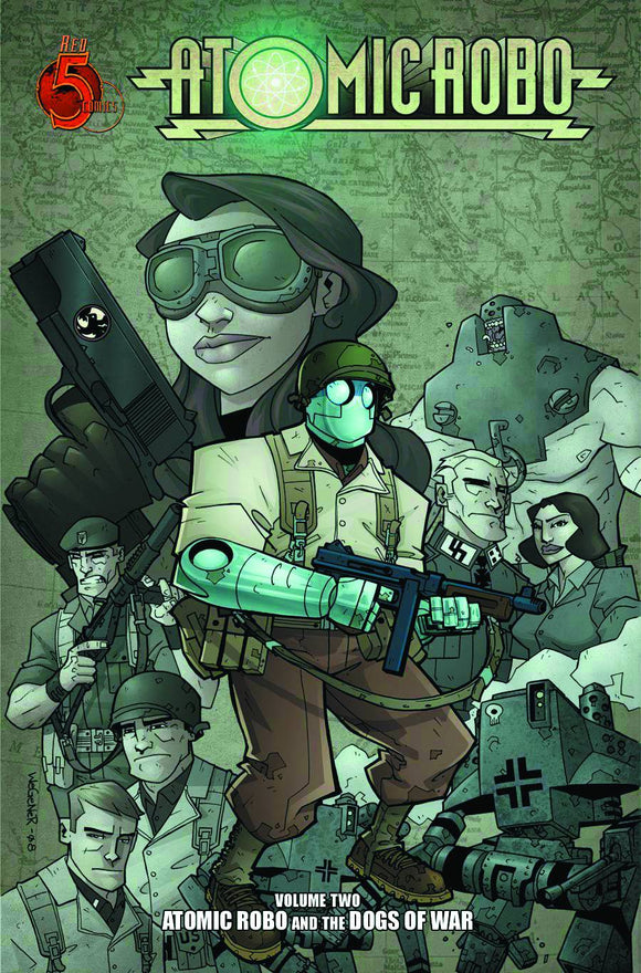 ATOMIC ROBO TP VOL 02 DOGS OF WAR