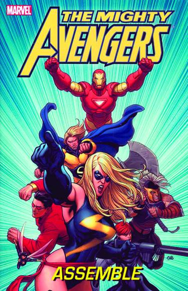 MIGHTY AVENGERS HC CHO COVER