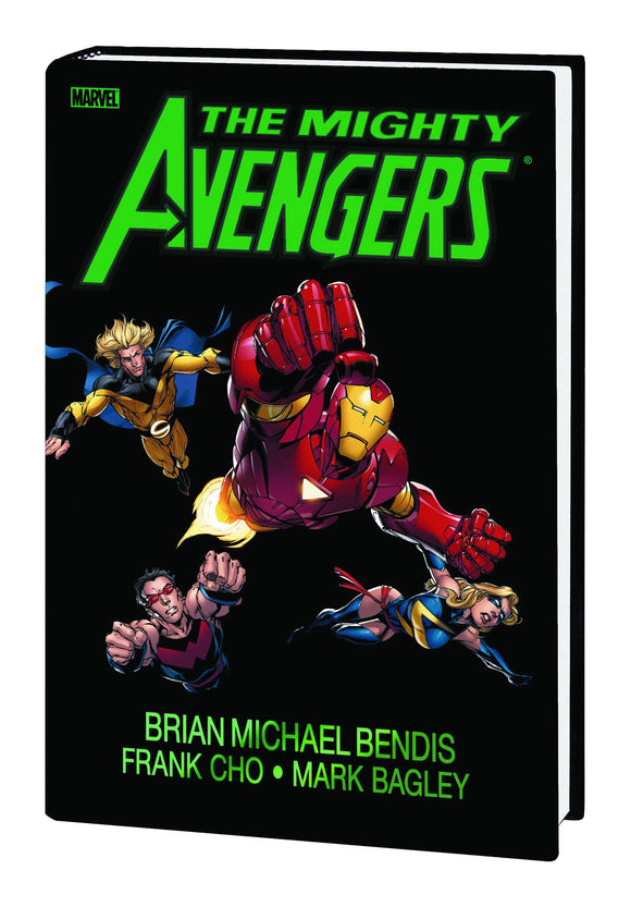 MIGHTY AVENGERS HC DM ED BAGLEY VAR