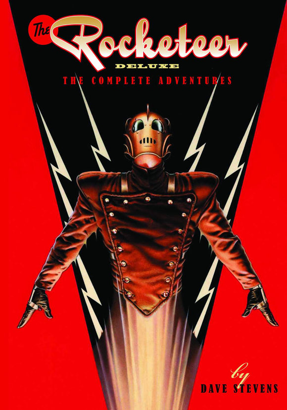 ROCKETEER COMPLETE COLLECTION DLX ED HC VOL 01