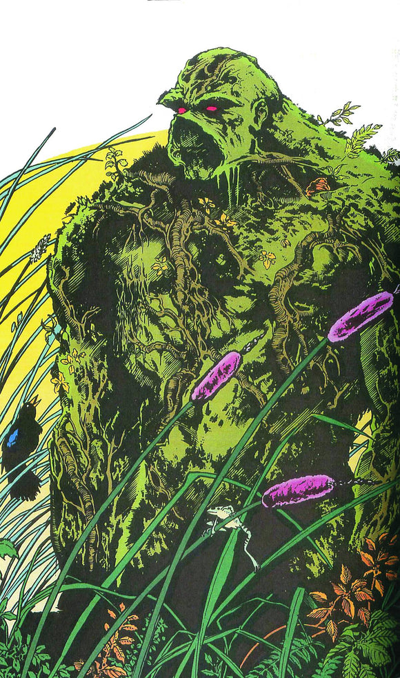 SAGA OF THE SWAMP THING HC BOOK 02
