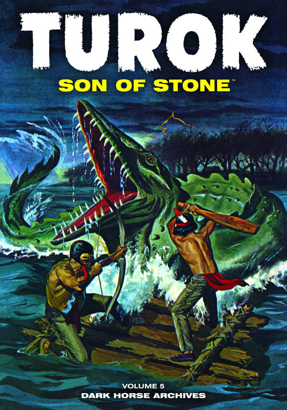 TUROK SON OF STONE ARCHIVES HC VOL 05
