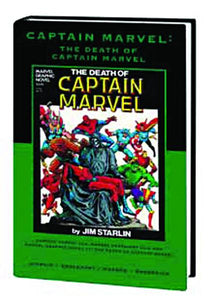 CAPTAIN MARVEL DEATH OF CAPTAIN MARVEL PREM HC VAR