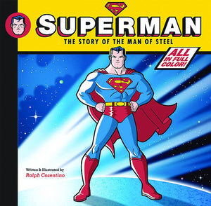 SUPERMAN STORY OF MAN OF STEEL YR HC