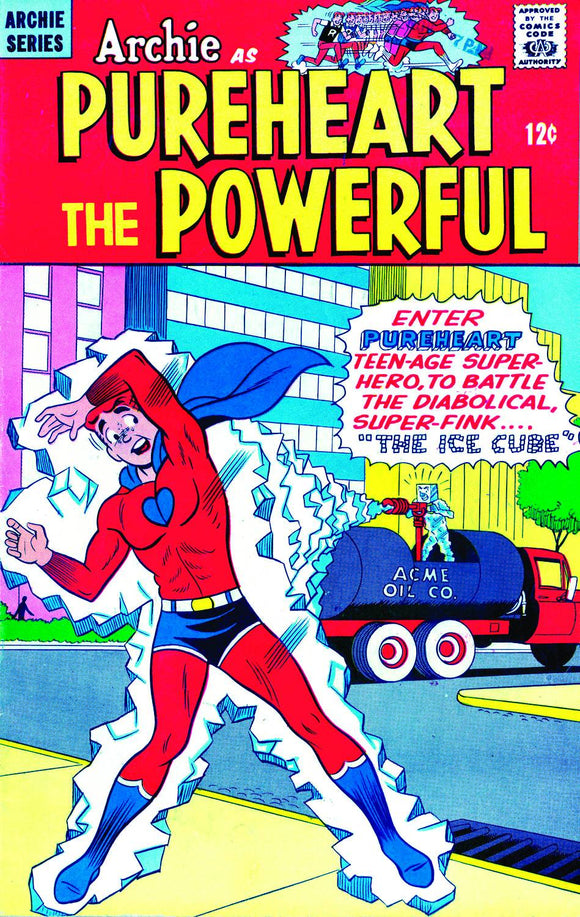 ARCHIE PUREHEART THE POWERFUL TP VOL 01