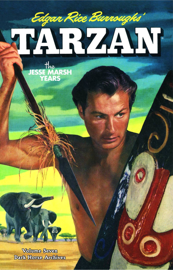 TARZAN THE JESSE MARSH YEARS HC VOL 07