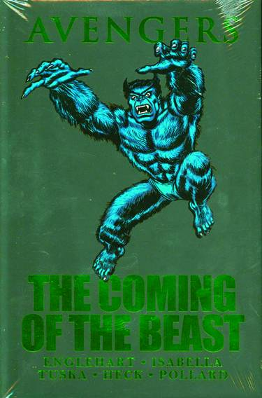 AVENGERS COMING OF BEAST PREM HC