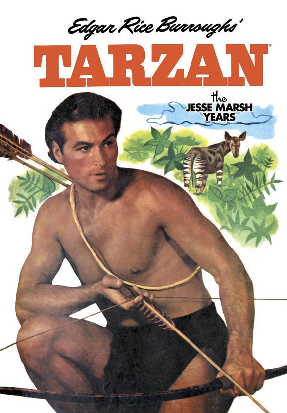 TARZAN THE JESSE MARSH YEARS HC VOL 08