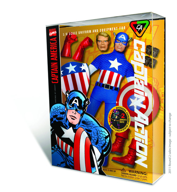 CAPTAIN ACTION CAPTAIN AMERICA DLX COSTUME SET