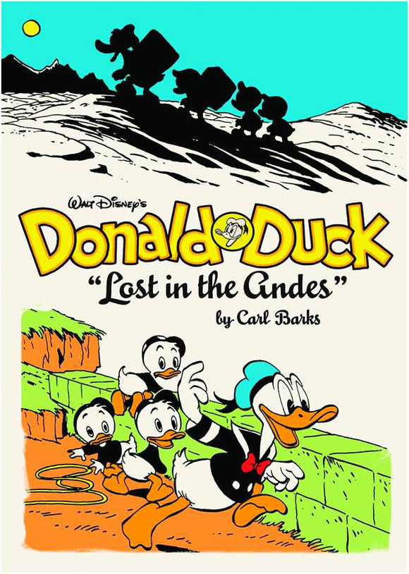 WALT DISNEY DONALD DUCK HC VOL 01 LOST IN ANDES