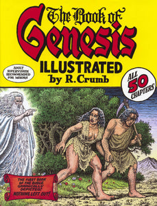 BOOK OF GENESIS ILLUS BY ROBERT CRUMB HC NEWER PTG