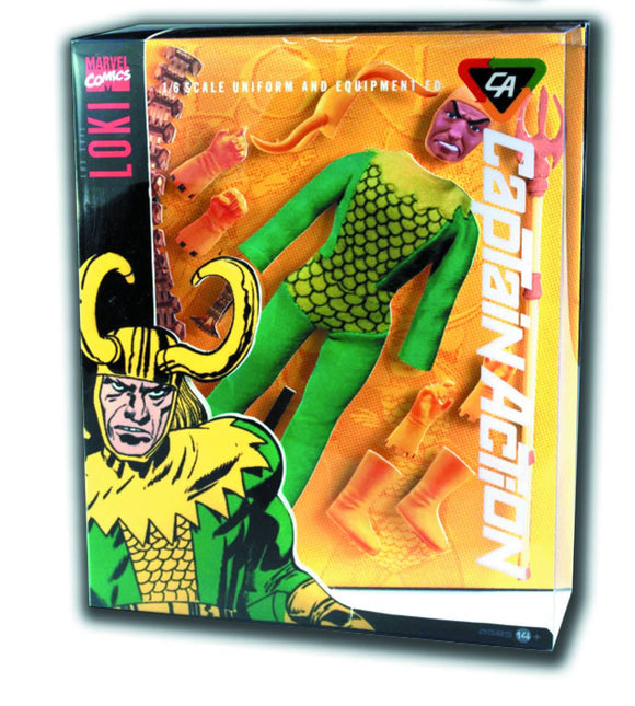 CAPTAIN ACTION LOKI DLX COSTUME SET