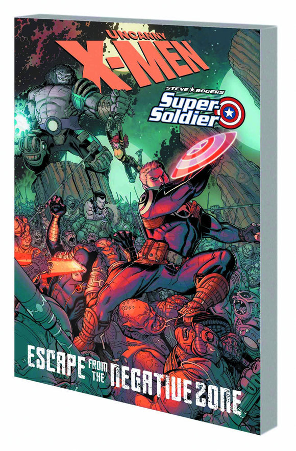 X-MEN STEVE ROGERS ESCAPE FROM NEGATIVE ZONE TP