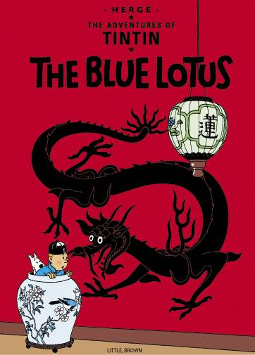 TINTIN VOL 01 THE BLUE LOTUS TP