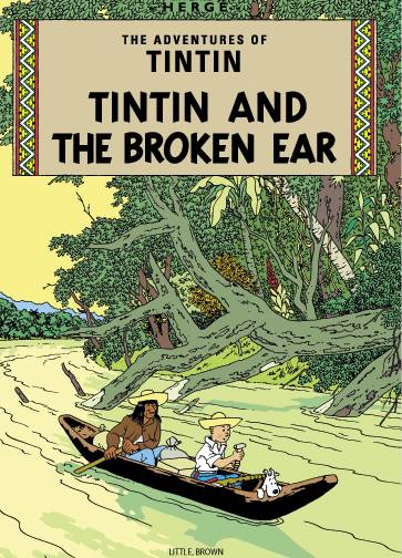 TINTIN VOL 04 THE BROKEN EAR TP