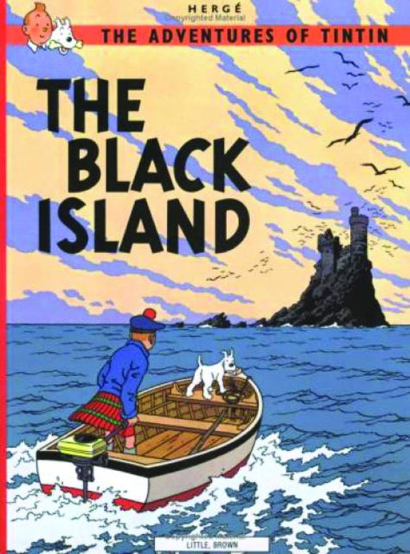 TINTIN VOL 05 THE BLACK ISLAND TP