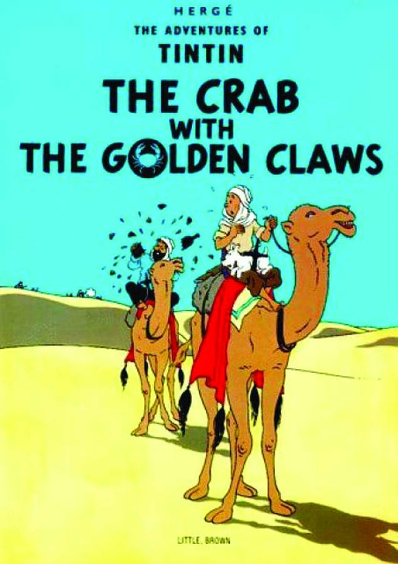 TINTIN VOL 07 CRAB WITH THE GOLDEN CLAWS TP