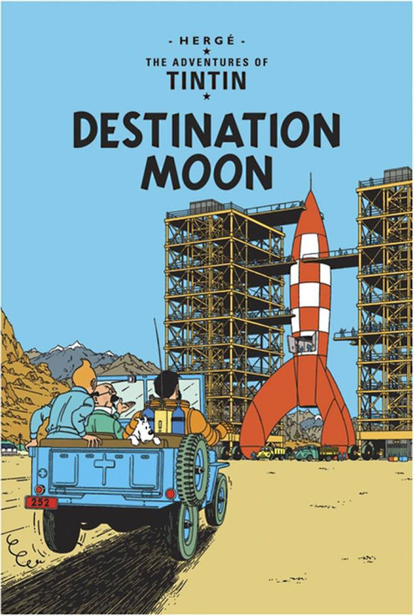 TINTIN VOL 14 DESTINATION MOON TP