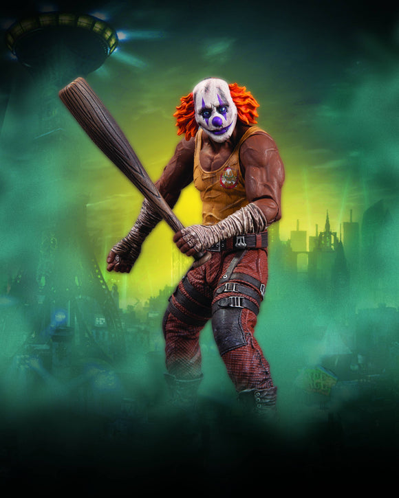 BATMAN ARKHAM CITY SER 3 CLOWN THUG W BAT AF