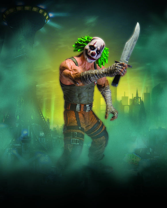 BATMAN ARKHAM CITY SER 3 CLOWN THUG W KNIFE AF