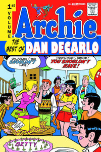 ARCHIE BEST OF DAN DECARLO TP VOL 01