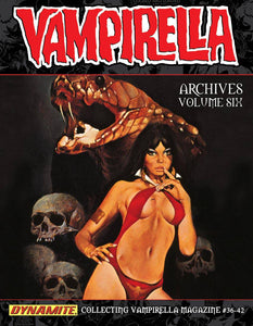VAMPIRELLA ARCHIVES HC VOL 06