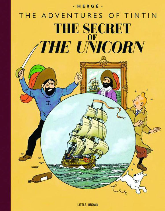 TINTIN VOL 09 THE SECRET OF THE UNICORN TP