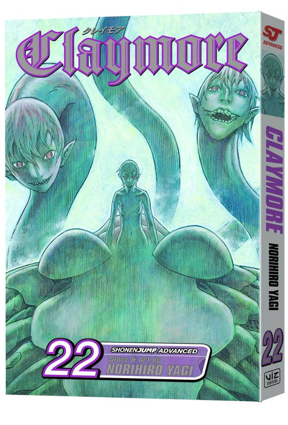 CLAYMORE TP VOL 22