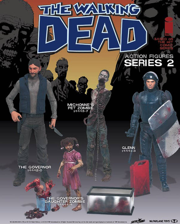 WALKING DEAD COMIC SER 2 MICHONNE PET AF
