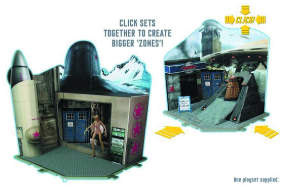 DOCTOR WHO 3.75IN AF PLAYSET COLD WAR