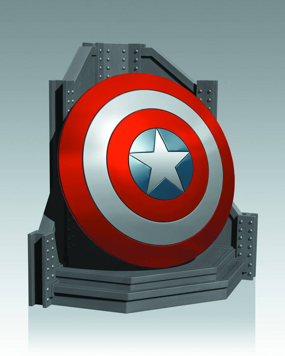 GENTLE GIANT CAPTAIN AMERICA SHIELD BOOKEND