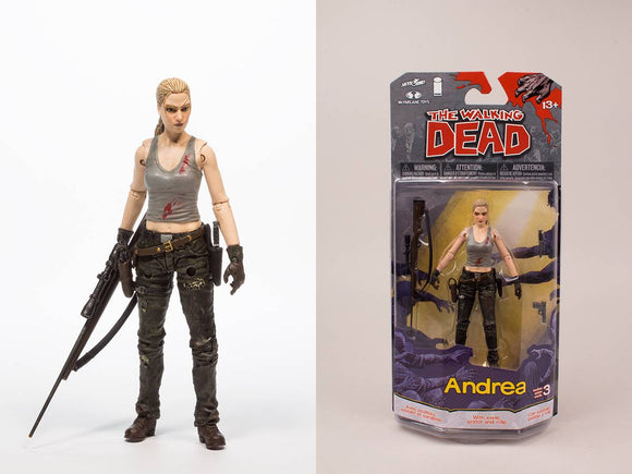 WALKING DEAD COMIC SER 3 ANDREA AF