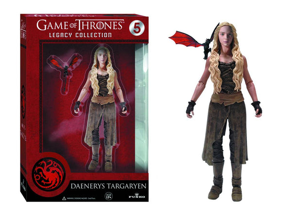 GAME OF THRONES LEGACY COLL 05 DAENERYS TARGARYEN ACTION FIGURE