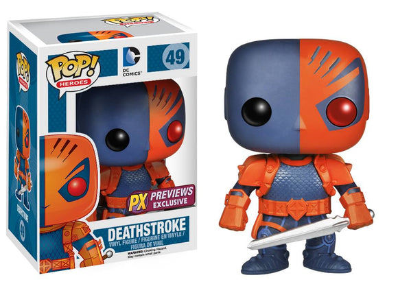 POP HEROES DEATHSTROKE PX VINYL FIG