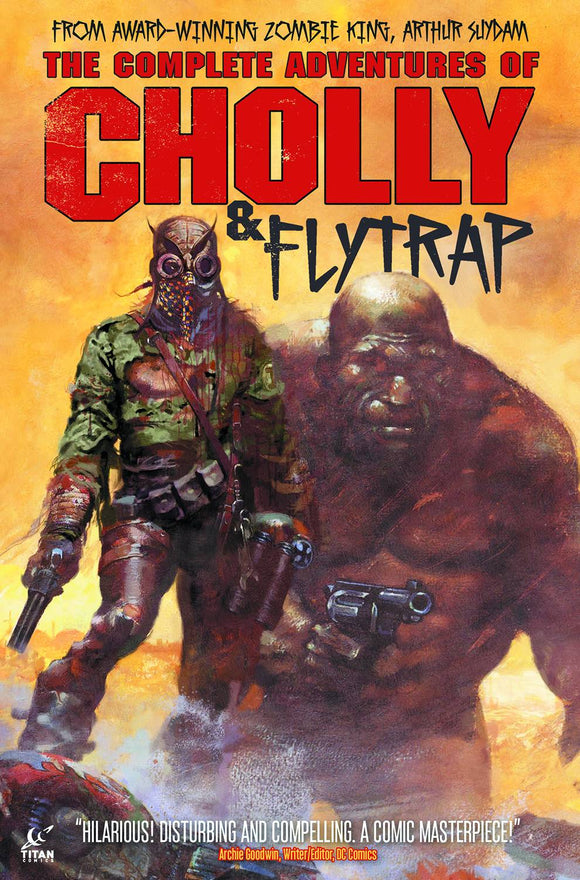 COMPLETE ADVENTURES OF CHOLLY & FLYTRAP HC